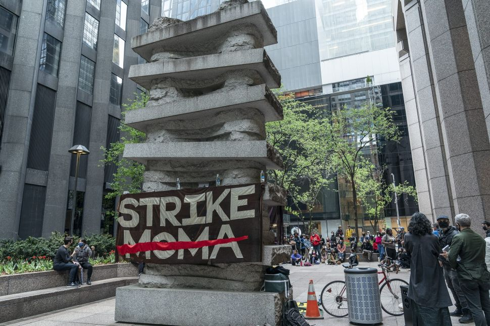 """""""Strike MoMA"""" Protests Led to Five Activists Being Banned From the Museum"""