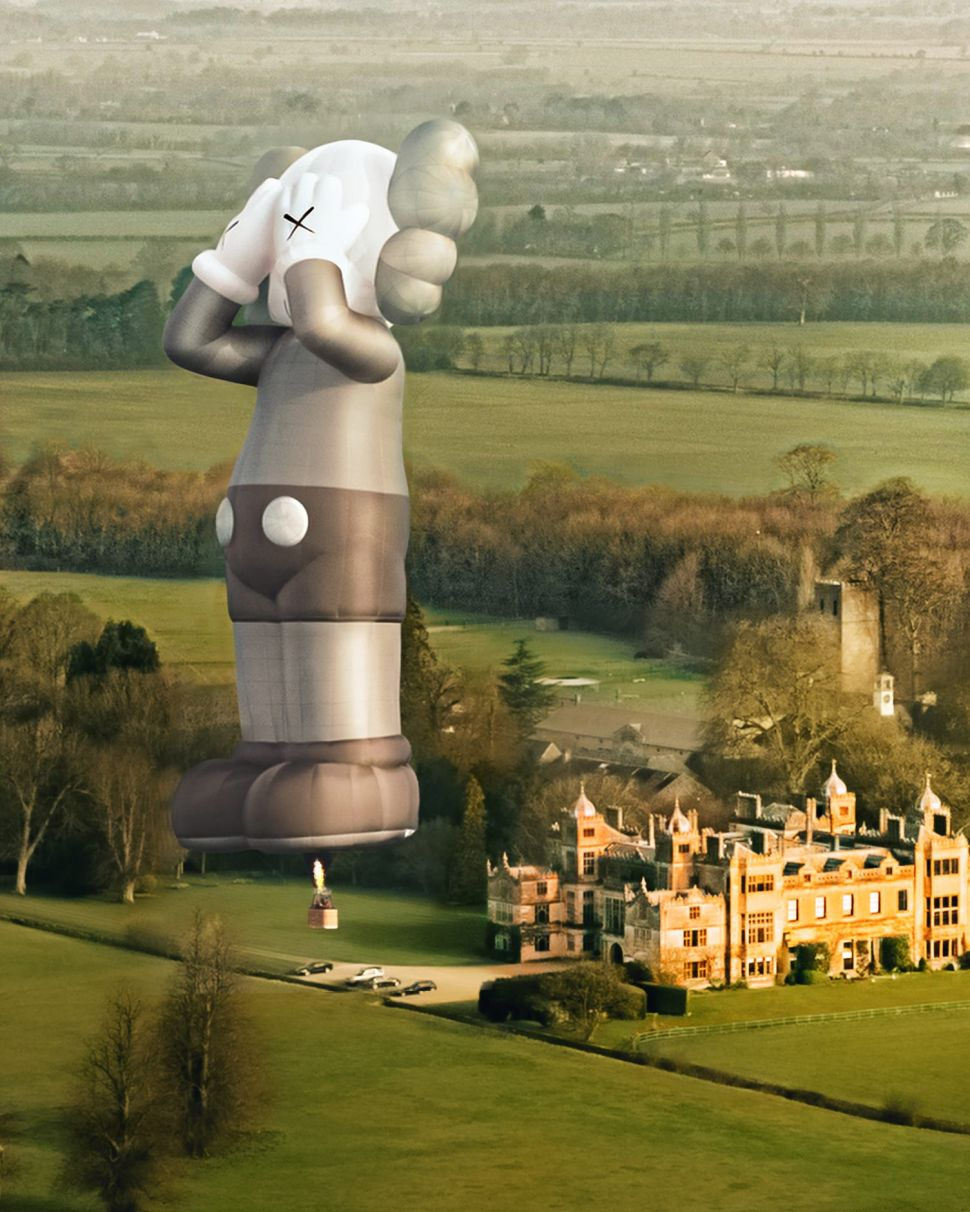 KAWS is Taking His 'Companion' Hot Air Balloon Around the World Later This Year