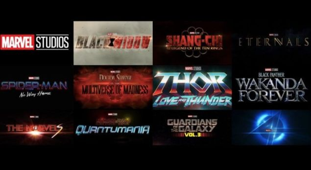 Marvel Phase IV Release Schedule