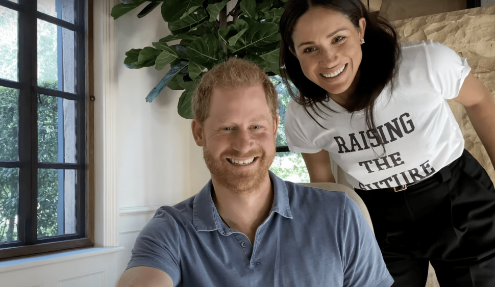 Meghan Markle Made a Cameo in the Trailer for Prince Harry and Oprah's New Docuseries