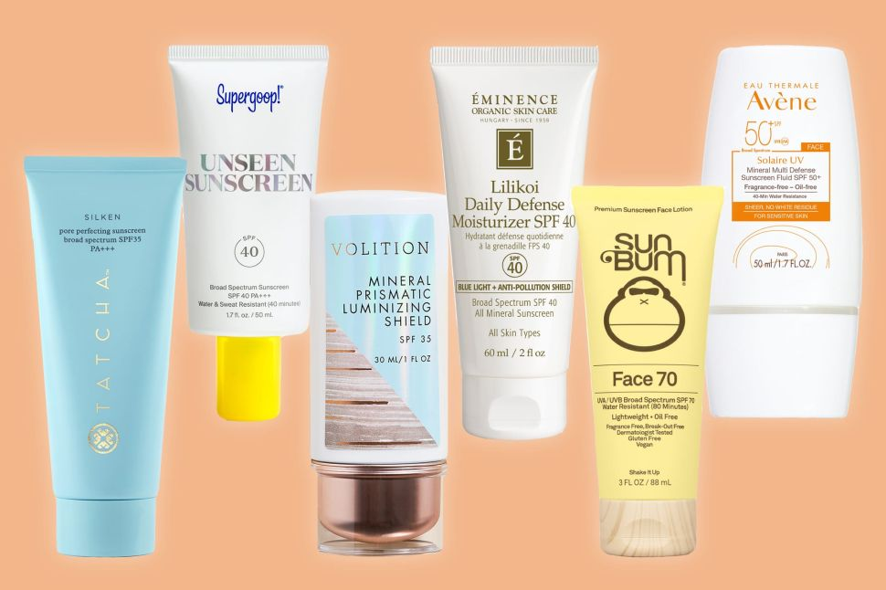 The Best Face Sunscreens That Won't Irritate Your Skin