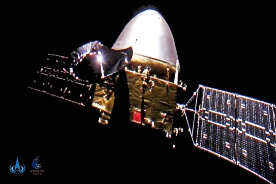 Vea la primera sonda Tianwen-1 Land a Rover Mars de China en el Planeta Rojo el viernes