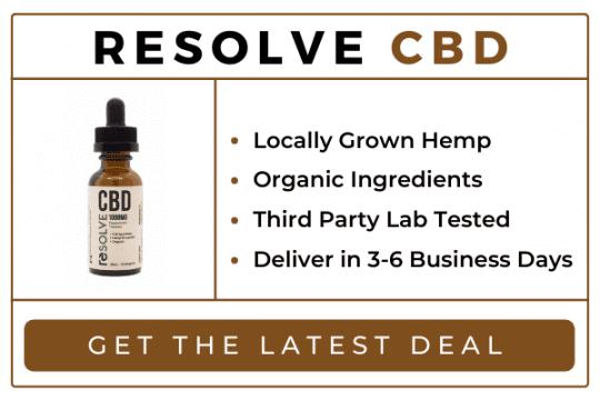 resolve cbd oil canada