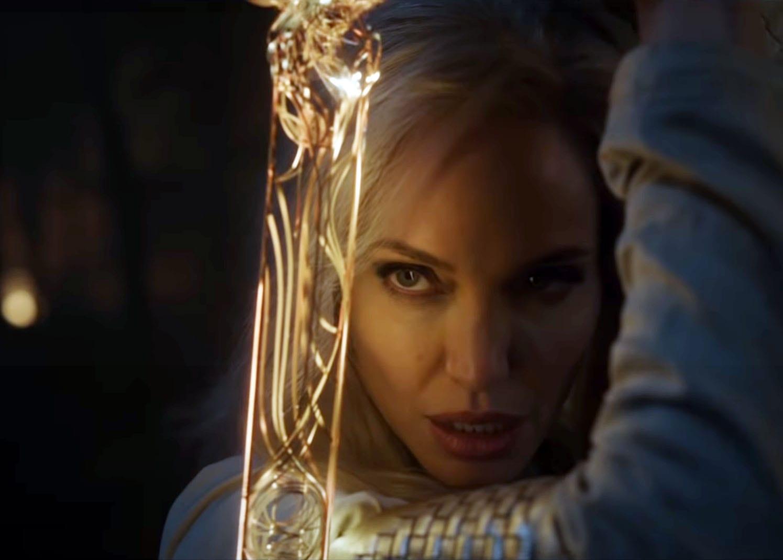angelina jolie eternals Marvel phase 4 trailer
