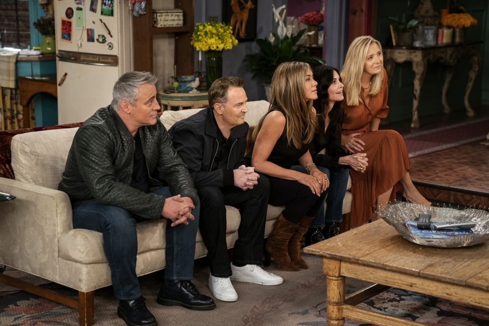 'Friends' Reunion on HBO Max Drove a Huge Surge for the Original Show