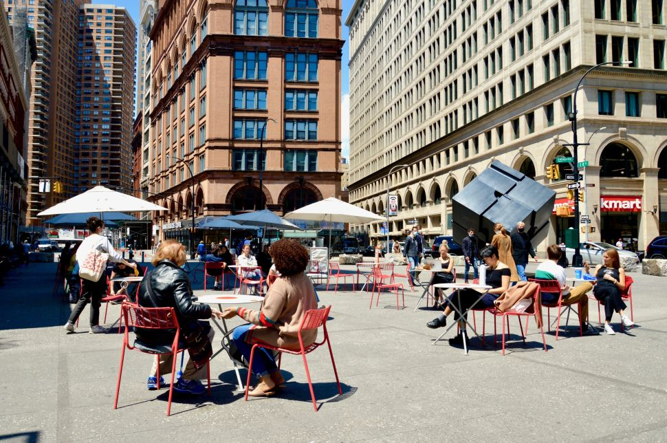 Rashid Johnson's 'Red Stage' Is Coming to Astor Place, With Creative Time's Help