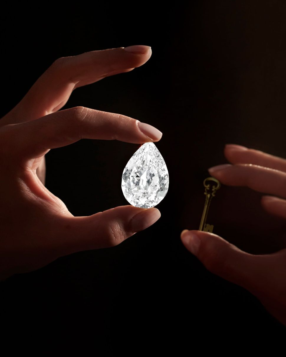 Sotheby's Will Accept Cryptocurrency in Exchange for a 101.38-Carat Diamond