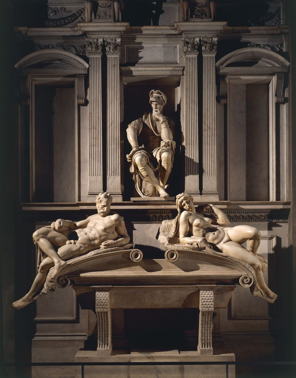 Michelangelo's Medici Chapel Sculptures Were Cleaned with Bacteria During COVID-19
