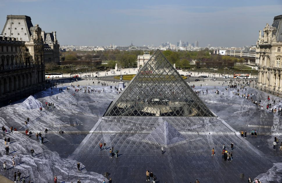 JR Will Launch His Next Project at the Iconic Pyramids in Giza
