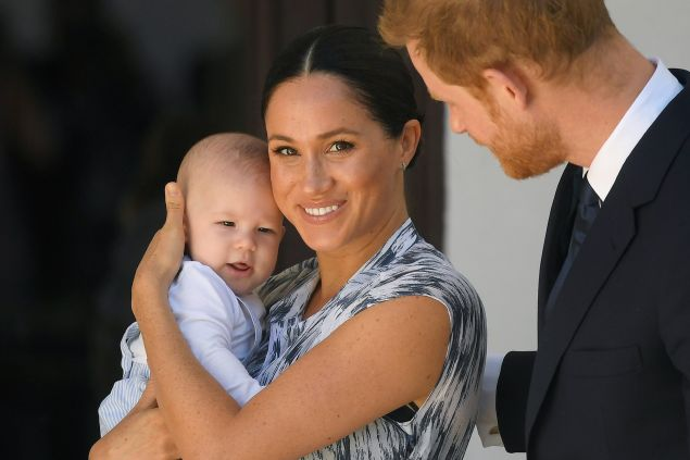 Meghan Markle & Prince Harry's Son Archie Loves Her Book 'The Bench'