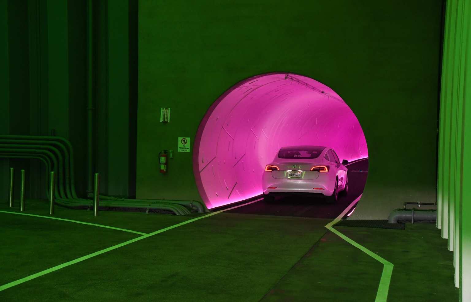 Elon Musk's Las Vegas tunnel