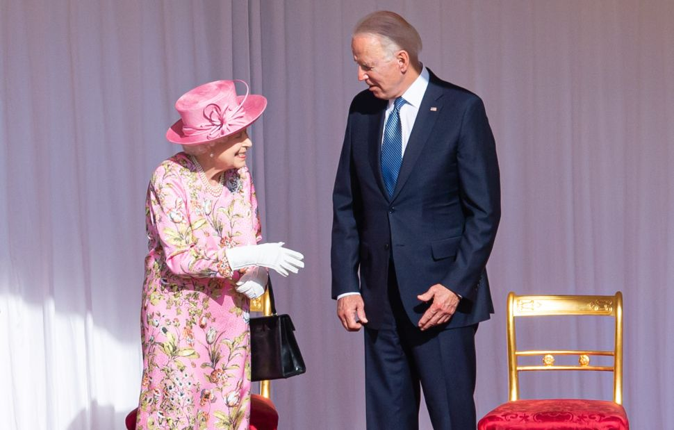 President Joe Biden Invited Queen Elizabeth to the White House During Tea at Windsor