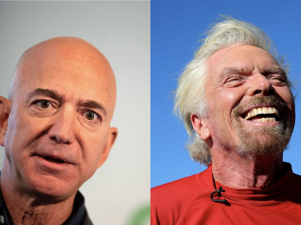 Jeff Bezos, Richard Branson Are Racing to Be 1st Billionaire in Space
