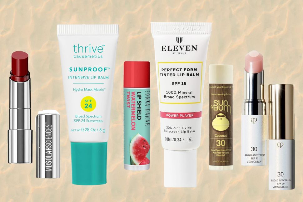 The Best Lip Balms With SPF to Moisturize and Protect Your Pout This Summer