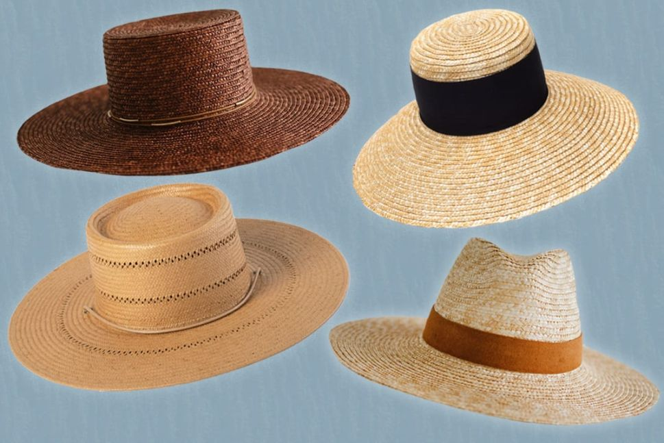 The Most Stylish Straw Hats to Wear All Summer Long