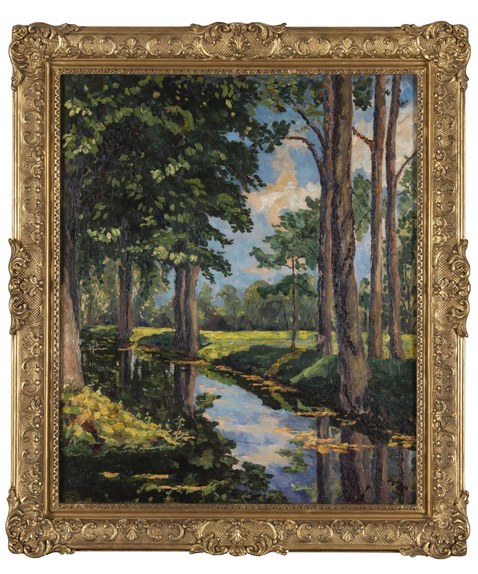 A Painting Winston Churchill Gave to Aristotle Onassis is Going Up for Auction