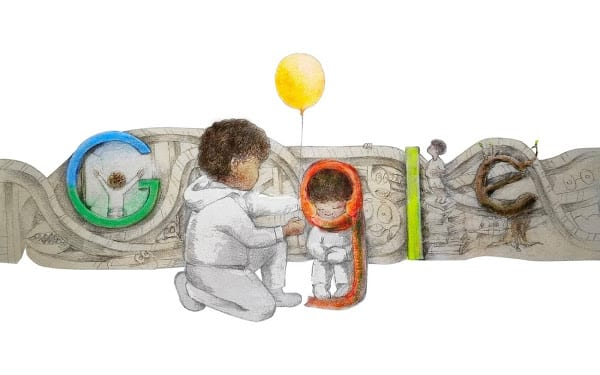 2021 Google for Doodle Winner Milo Golding Found Strength After His Father's Death