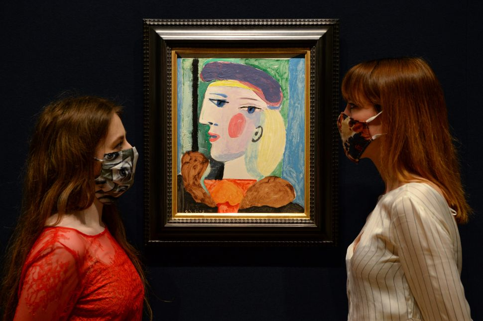 Shares in a 1964 Picasso Painting Will Soon Be Available on the Blockchain