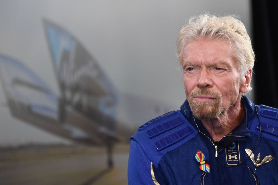 Virgin Galactic Stock Sinks After Richard Branson's Spaceflight—Here's Why
