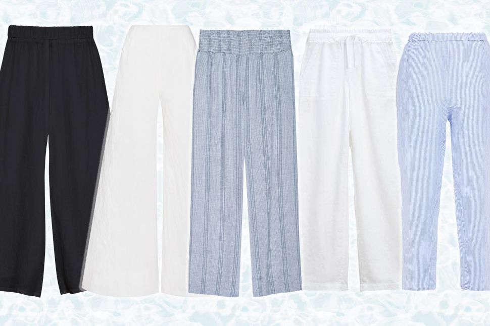 The Best Linen Pants to Add to Your Summer Wardrobe