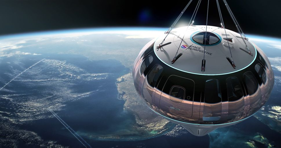 Space Perspective Founders Discuss Vacationing in a Giant Space Balloon