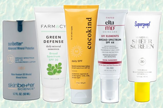 Best Mineral Face Sunscreens: SPF for Sensitive & Acne-Prone Skin 2021