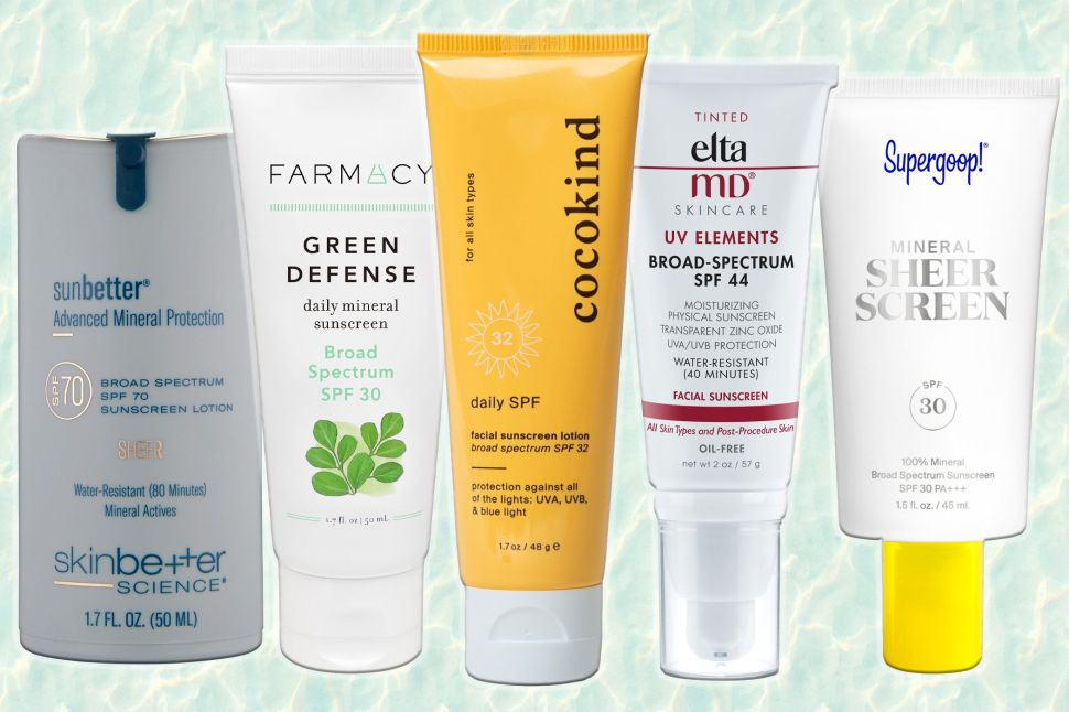 The Best Mineral Face Sunscreens for Sensitive and Blemish-Prone Skin