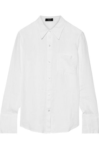 The Classic White Button-Down Shirts That Are Anything But Basic 14