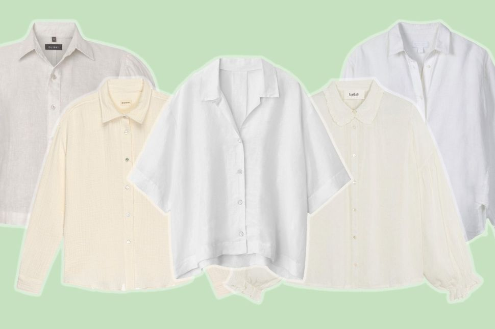 The Classic White Button-Down Shirts That Are Anything But Basic