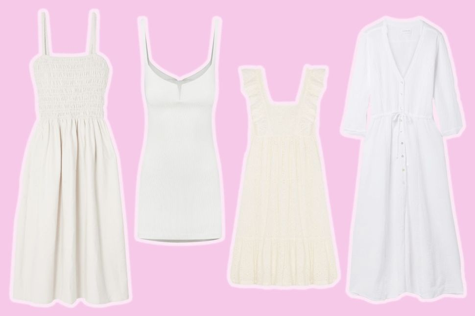 The Breezy White Dresses You'll Live in This Summer