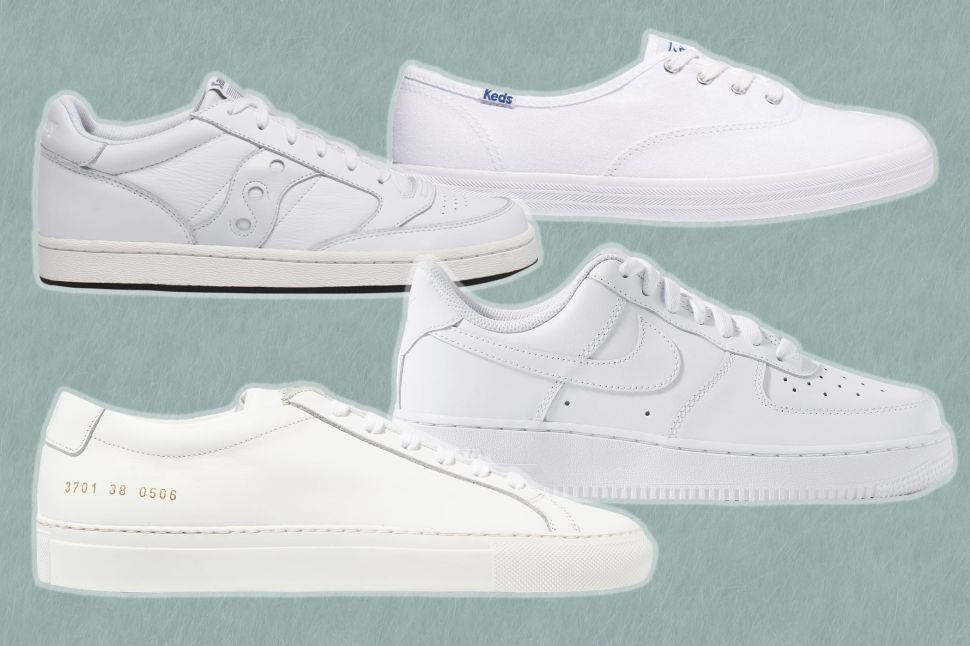The Classic White Sneakers That Go With Absolutely Everything