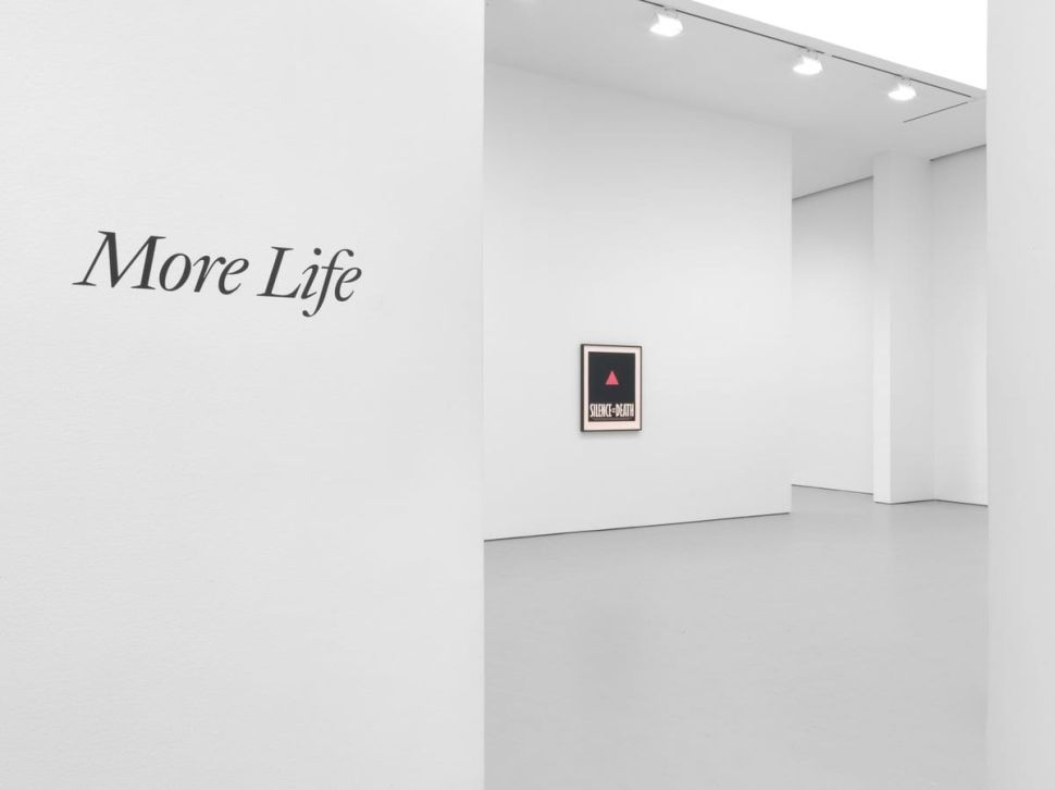 'More Life' at David Zwirner Memorializes Artists Lost to AIDS