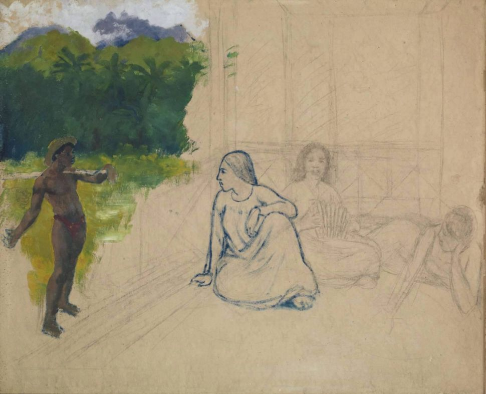 A Gauguin in the Tate Britain's Collection Could Potentially Be a Fake