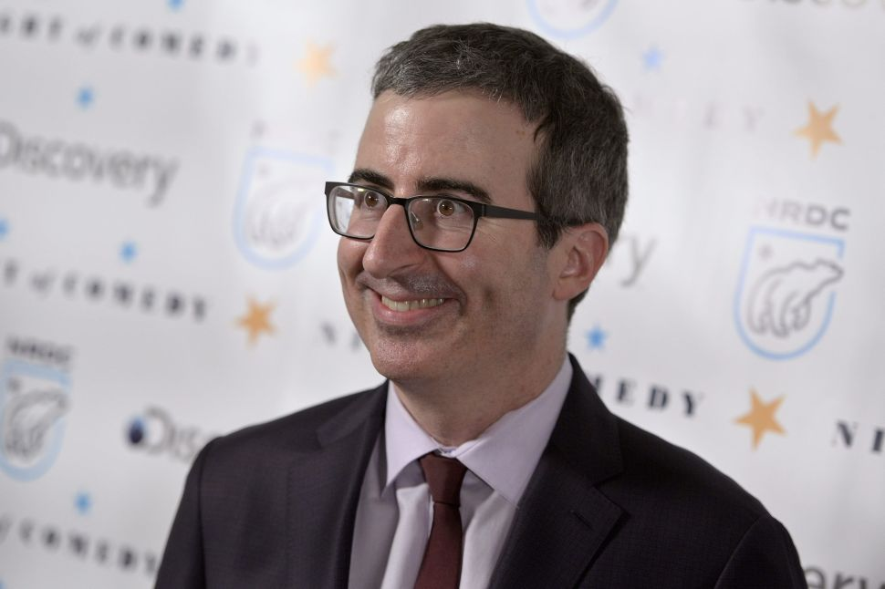 John Oliver's eerie art collection arrives at a museum near you