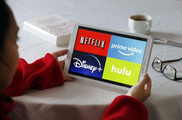 Amazon Apple Netflix Disney Hulu