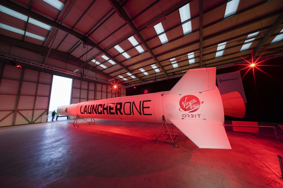 Virgin Orbit to Go Public at Huge Valuation, Continuing Richard Branson's SPAC Spree