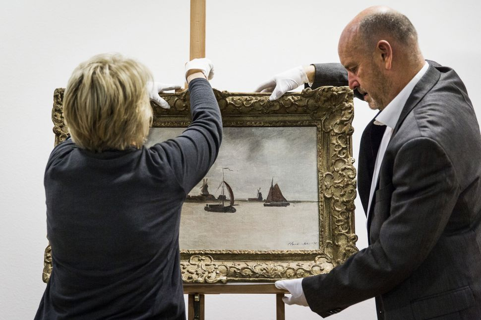 An Attempted Theft of a Monet Was Thwarted by Bystanders and Museum Staff This Week