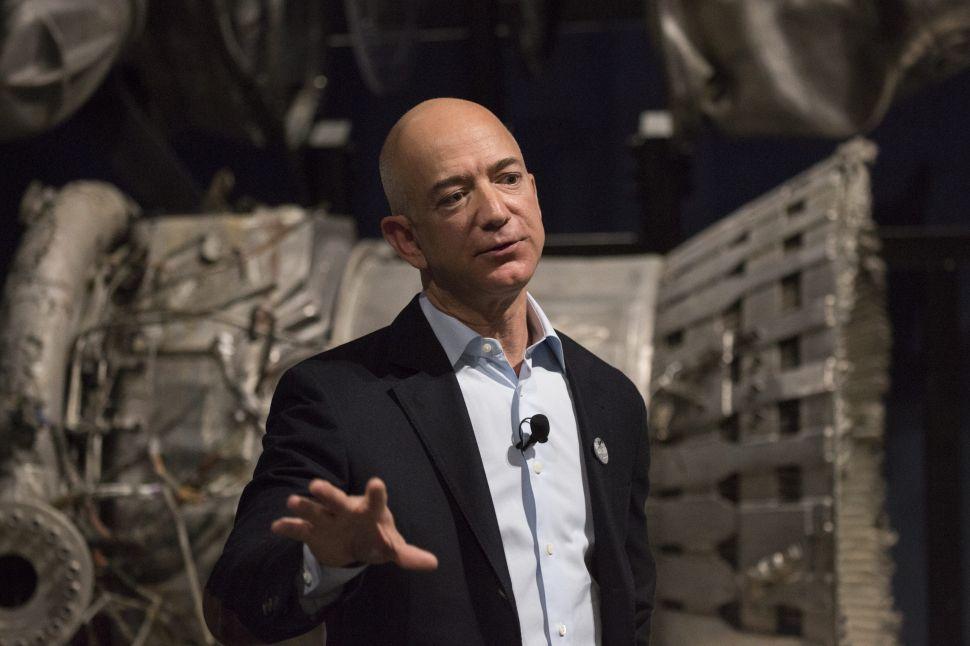 Why Does Jeff Bezos Want NASA's Moon Lander Contract So Badly?
