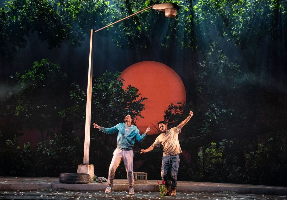 Broadway Drama Is Back With the Scorching 'Pass Over'