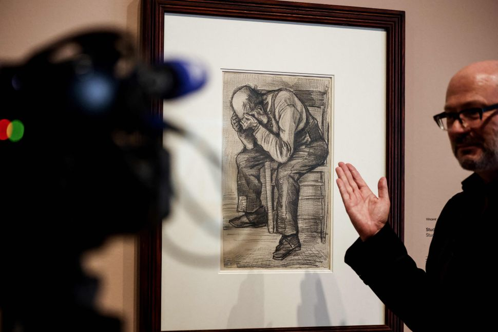 A Drawing of An Old Man Is the Latest 'New' Van Gogh Discovery