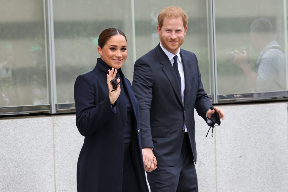 How Prince Harry and Meghan Kicked Off Their Trip to New York