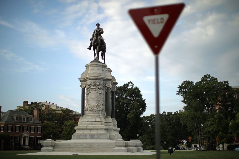 Another Robert E. Lee Statue Has Been Approved for Removal in Virginia