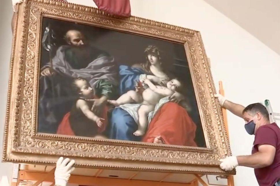 An Italian Masterpiece from the 17th Century Found in a Random New York Church