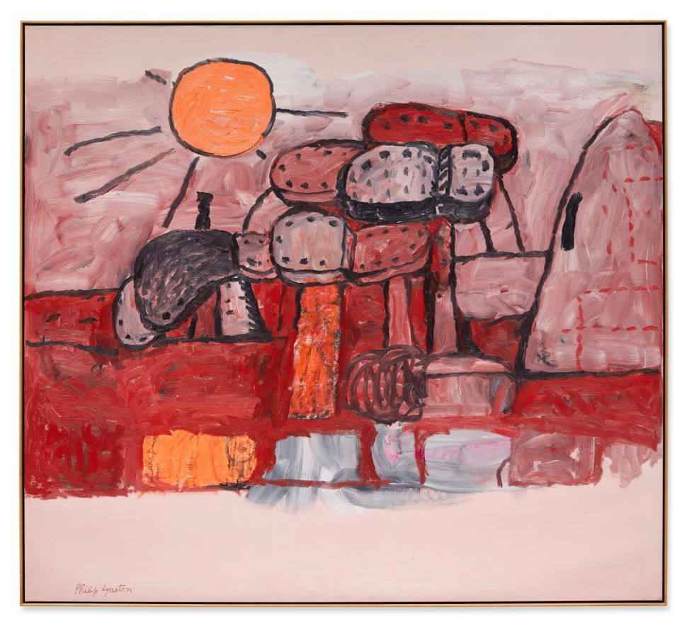 Philip Guston's 'Ominous Land' Is a Standout in Upcoming Sotheby's Auction