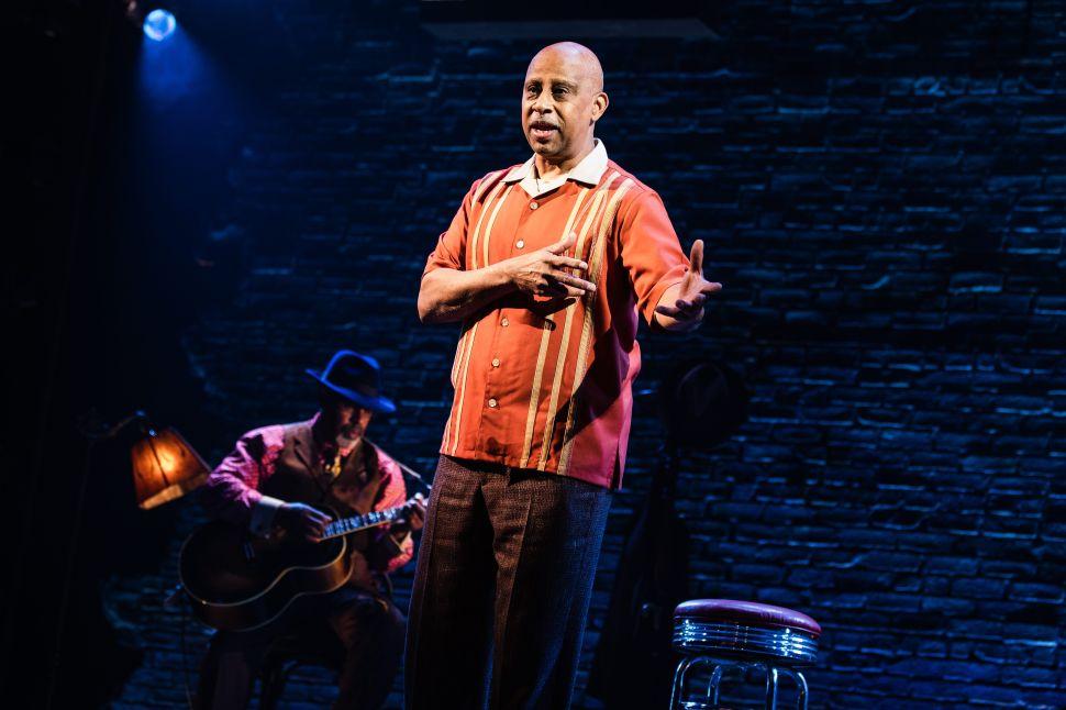 Ruben Santiago-Hudson Makes Music of the Past in 'Lackawanna Blues'
