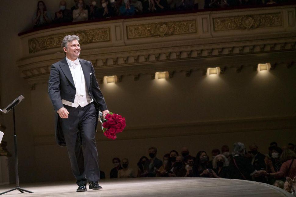 Superstar Tenor Jonas Kaufmann Performs at Carnegie Hall