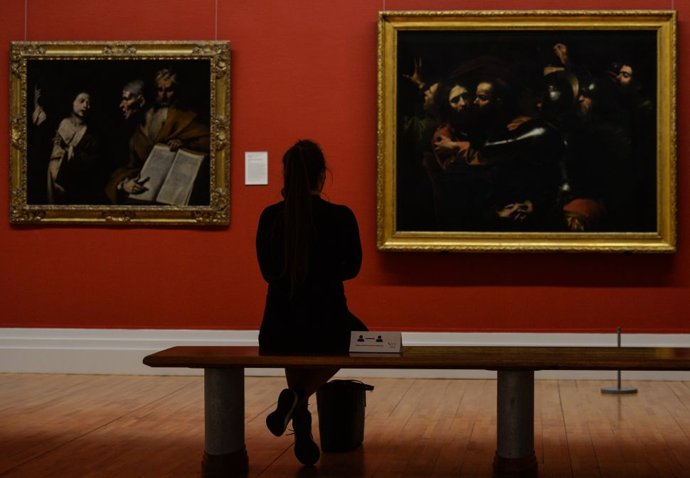 A Recently Uncovered Painting Could Potentially Be a Caravaggio