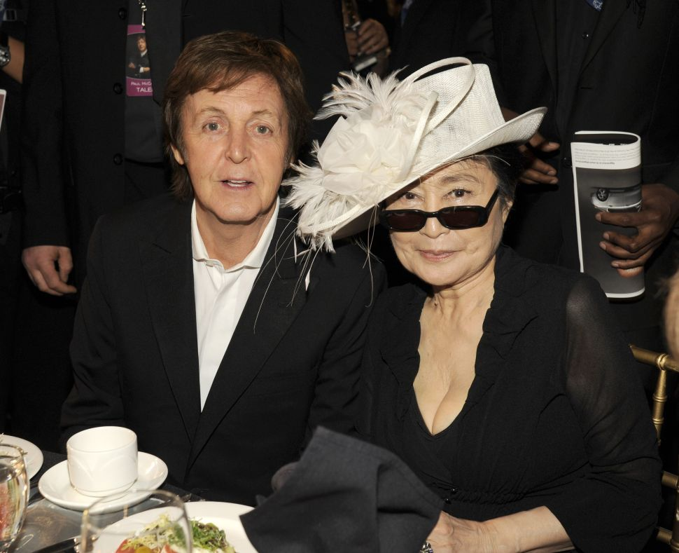 Paul McCartney Is Still Bringing Up Yoko Ono When it Comes to the Beatles Breakup